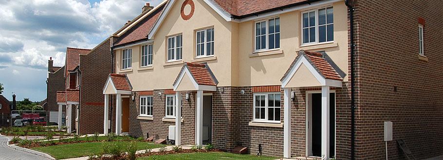Rowan Mews development in Hailsham East Sussex