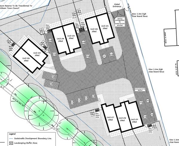 New Mews development - Goodwin Close Hailsham