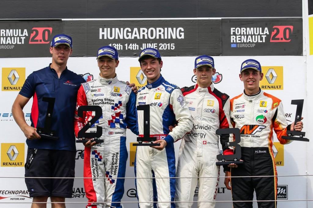 Jack Aitken wins Hungaroring June 2015