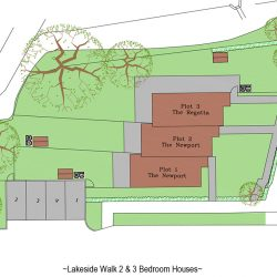 Lakeside Walk Site Plan