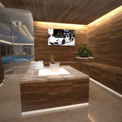 Luxury Saunas & Steam Room The Hermitage Wadhurst