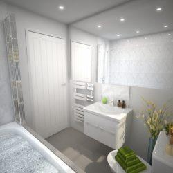 Lucca 4 Bed Bathroom
