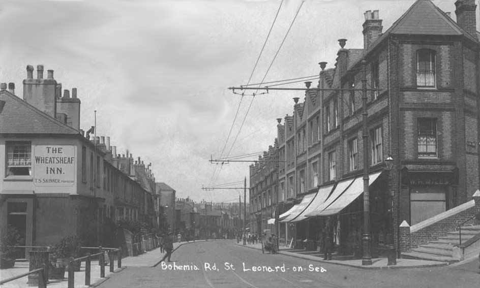 Old Photo of Bohemia Road St Leonards