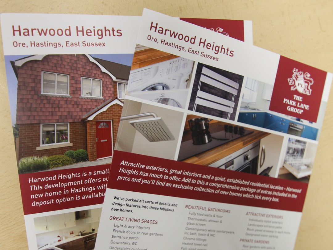 New Harwood Heights brochures