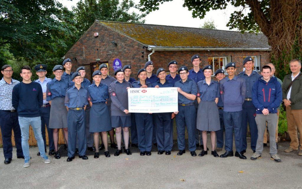 88 Battle Squadron cadets