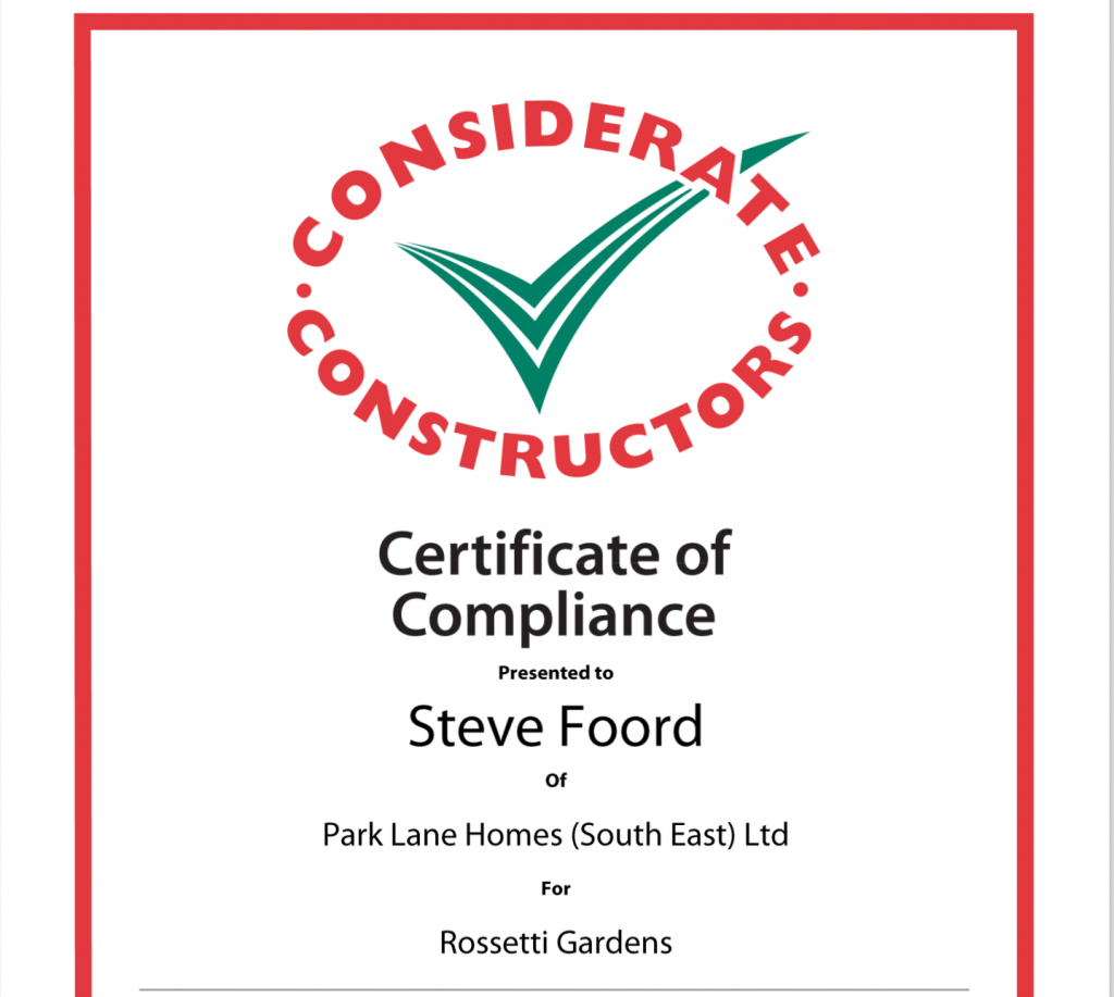 Considerate Constructor's Report Sep 2017