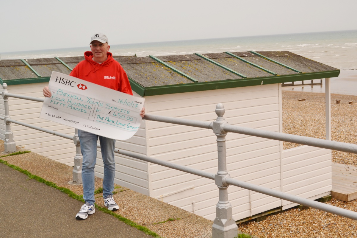Bexhill Youth Service Beach Hut Fundraising