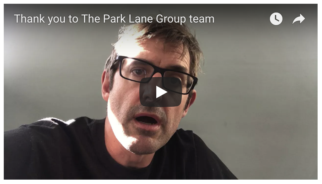 Thank you from Louis Theroux