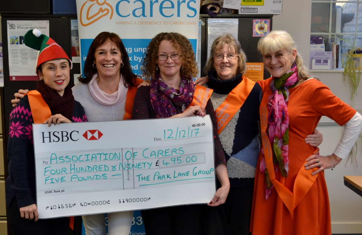 Association of Carers Giveaway from Park Lane Group