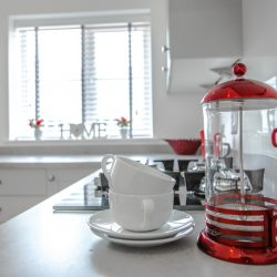 The Rosewood kitchen & cafetiere