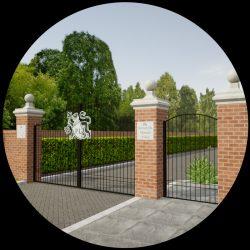 Robert de Mortain Entrance Gates