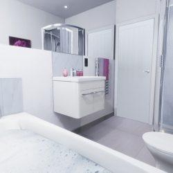 The Beaumont Bathroom CGI