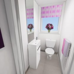 The Beaumont Cloakroom CGI