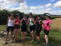 Rachel Riley Sponsored Cycle Training 2018