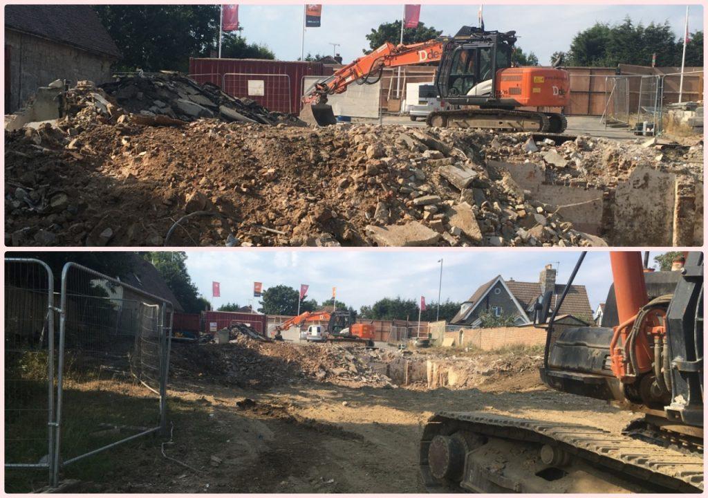 Demolition Robert de Mortain pub