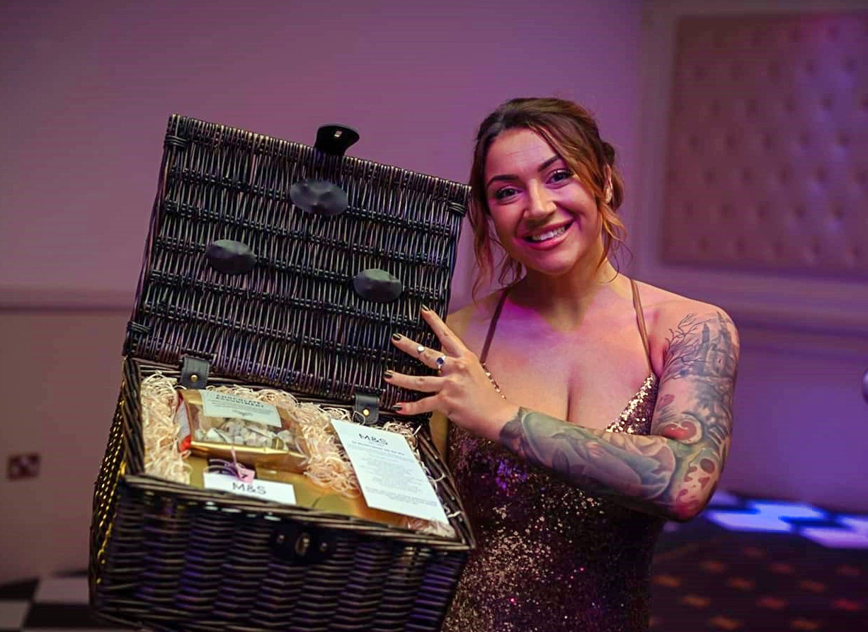 Stroke Association Ball Hamper gift