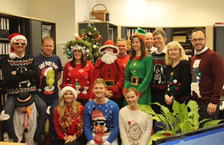 Christmas Jumper Day 2018