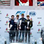 Jack Aitken podium finish at Baku Apr 2019