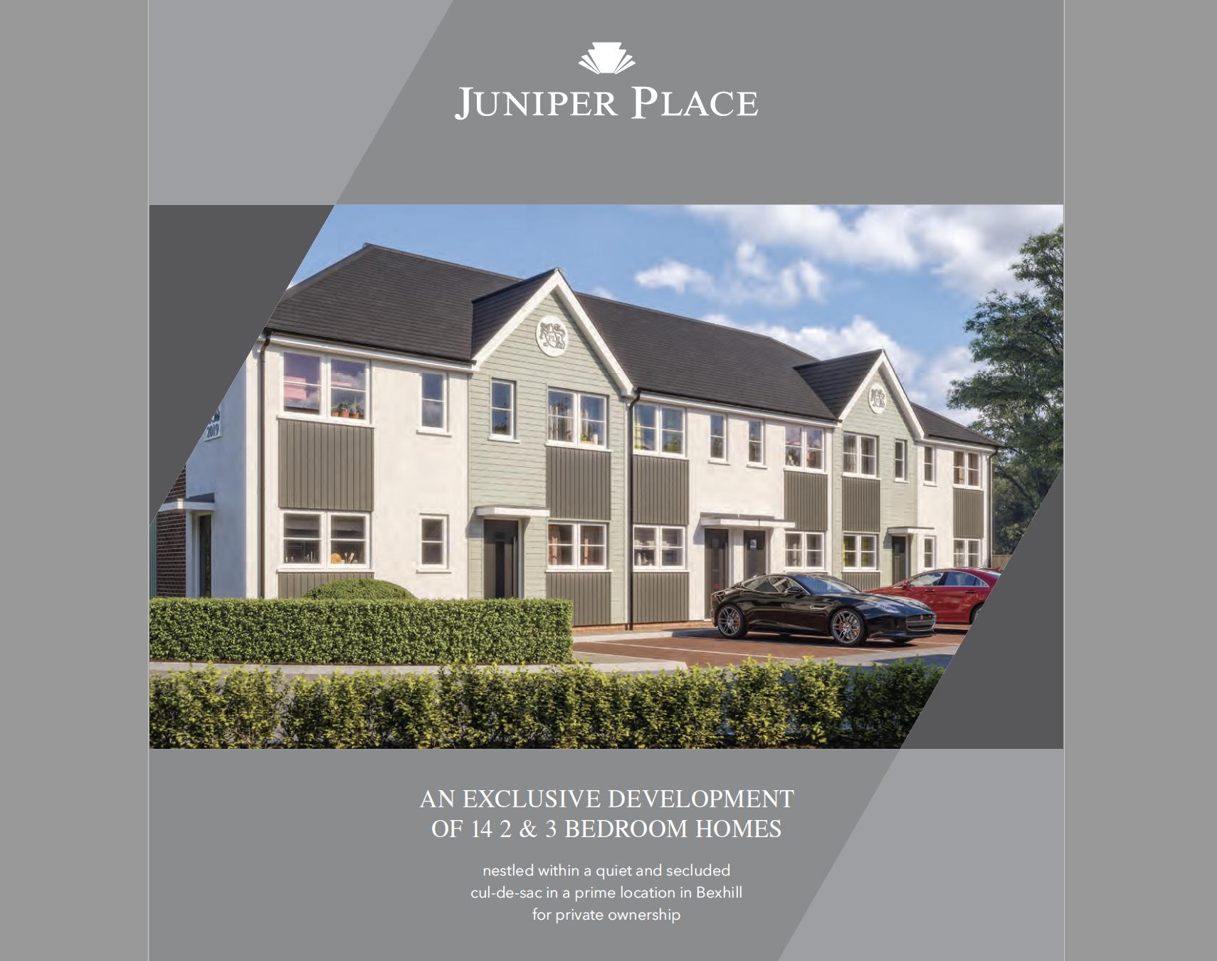 New Juniper Place Brochures