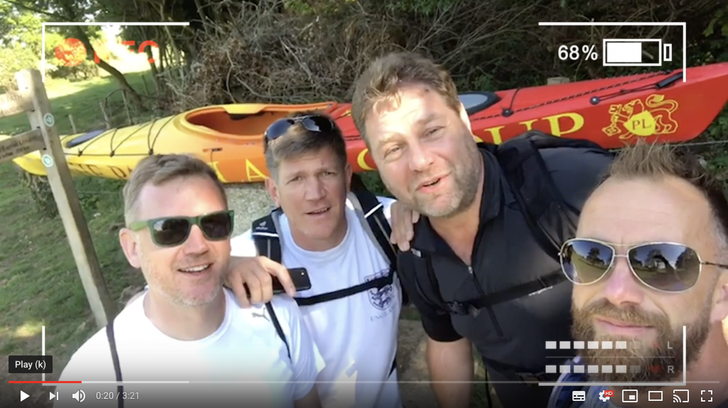 Dain Jensen Thames Challenge