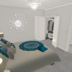 The Hambledon & Hascombe Master Bedroom1