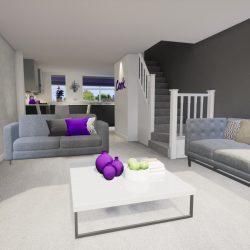 Living Room Artist's impression