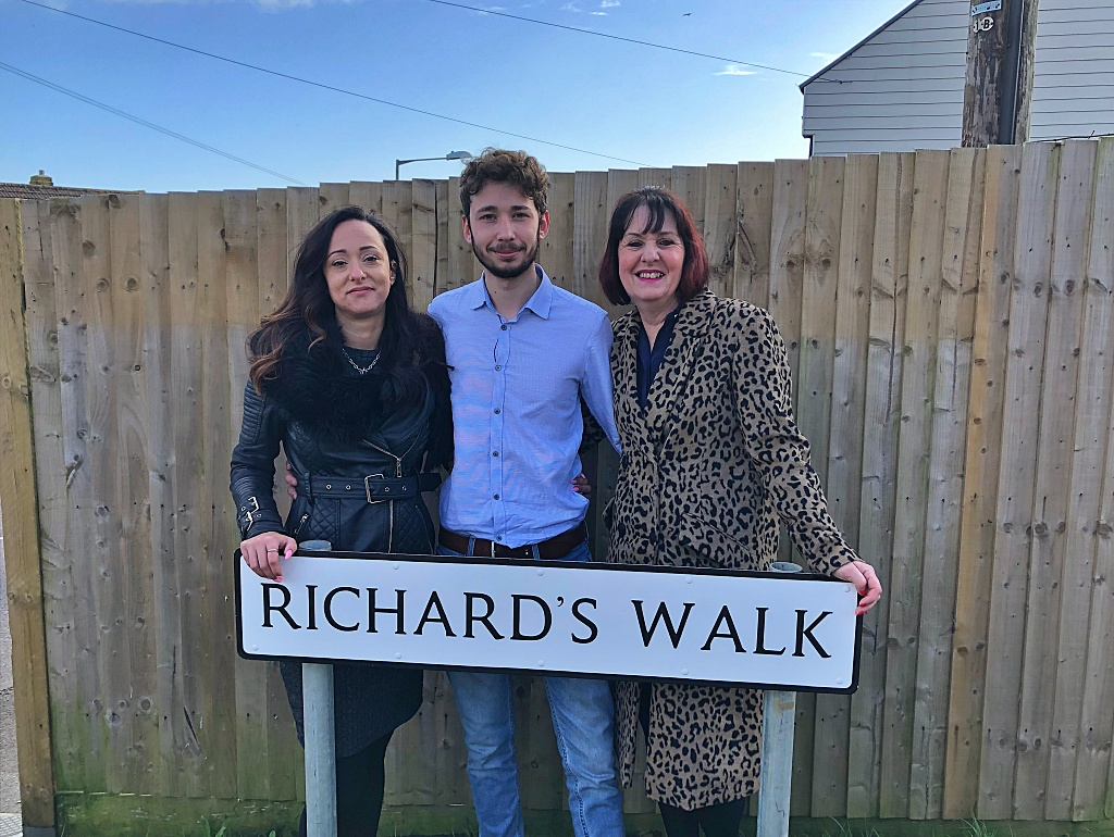 Richard's Walk, Richard's family