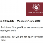The Park Lane Group offices