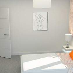 Bedroom 2 at Finchley Place