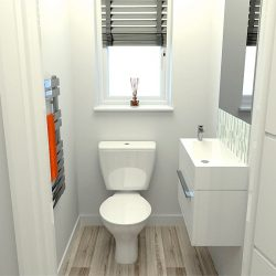 Fully Fitted WC at Finchley Place