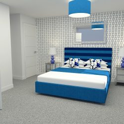 The Elsted Master Bedroom at Avebury Mews