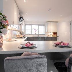 Finchley Place Kitchen Breakfast Bar
