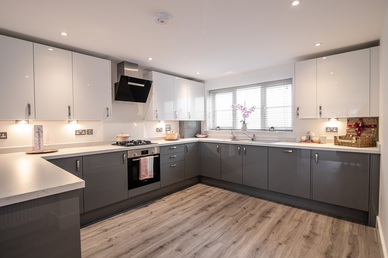 Finchley Place Kitchen by The Park Lane Group