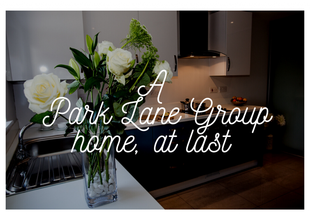 A Park Lane Group Home At Last