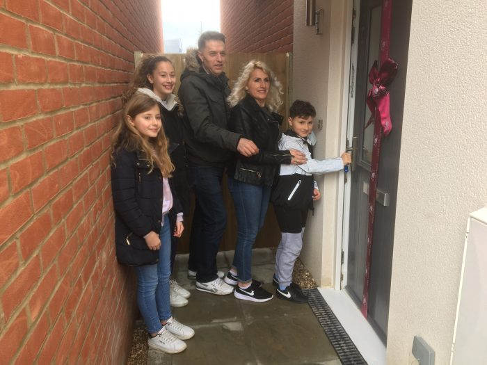 The Manaj Family Move in to Their New Home
